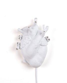 [Heart Lamp Seletti - applique in porcellana - dtimeshop]