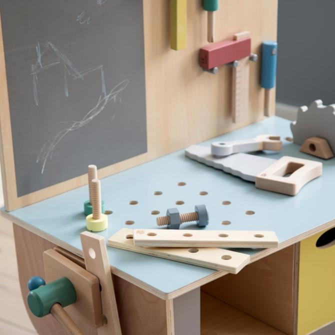 Play Tool Bench Banco da lavoro giocattolo