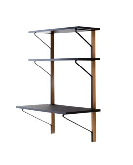 [Kaari Shelf with desk REB 013 A]